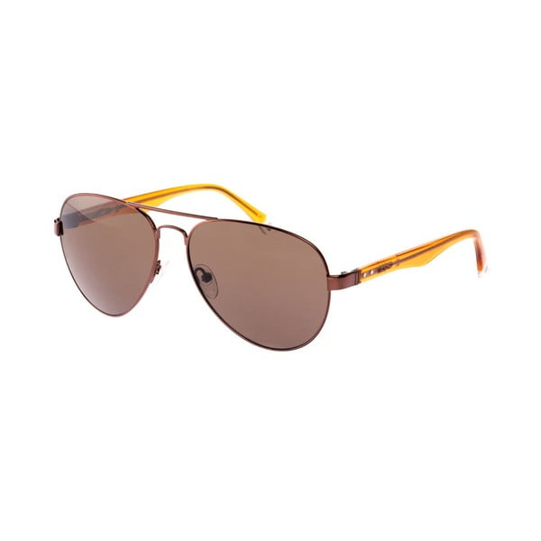 Męskie okulary przeciwsłoneczne GANT Metal Brown