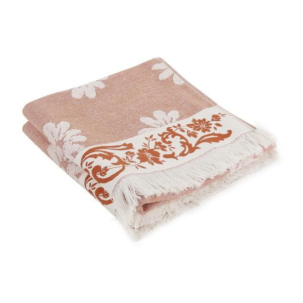 Zestaw 2 ręczników bawełnianych Kovi, 50x100cm