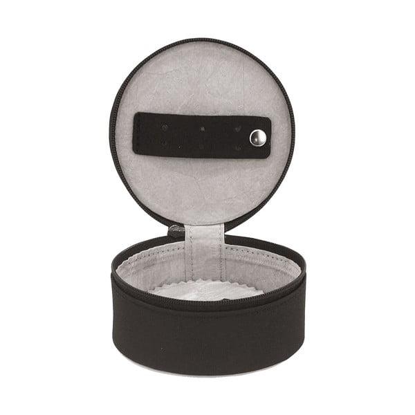 Szkatułka na biżuterię Elegance Black, 10x10x5 cm