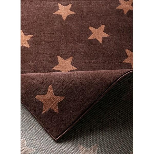 Brązowy dywan dziecięcy Hanse Home Stars, 140x200 cm