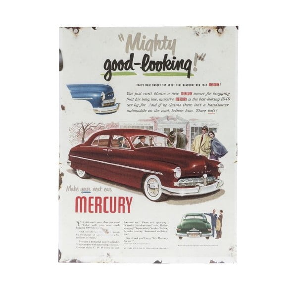 Tabliczka na ścianę Mercury Porte