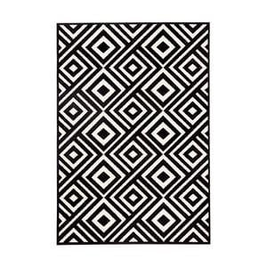 Czarno-biały dywan Hanse Home Art, 70x140 cm
