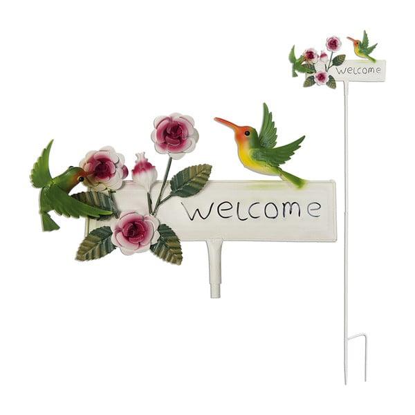 Tabliczka ogrodowa Garden Welcome, 119 cm