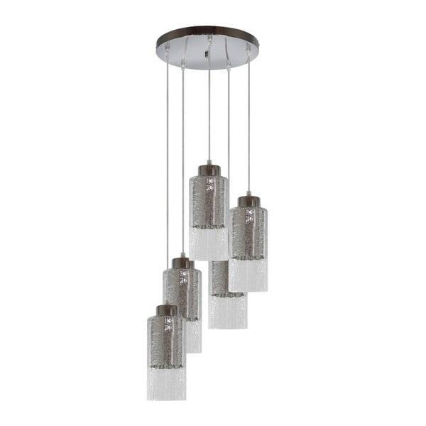 Lampa Candellux Lighting Libano 5, srebrna