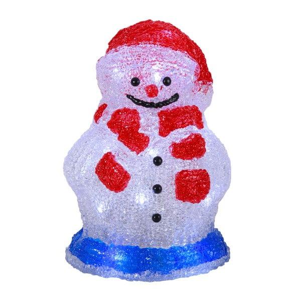 Świecąca dekoracja Crystal Snowman 16