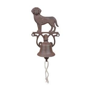 Żeliwny dzwonek w kształcie psa EsschertDesign