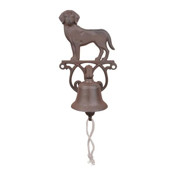 Dzwonek żeliwny w kształcie psa Ego Dekor