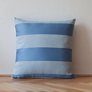 Poduszka z wypełnieniem Light Blue Sripes, 50x50 cm