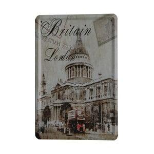 Tablica Britain London, 15x21 cm