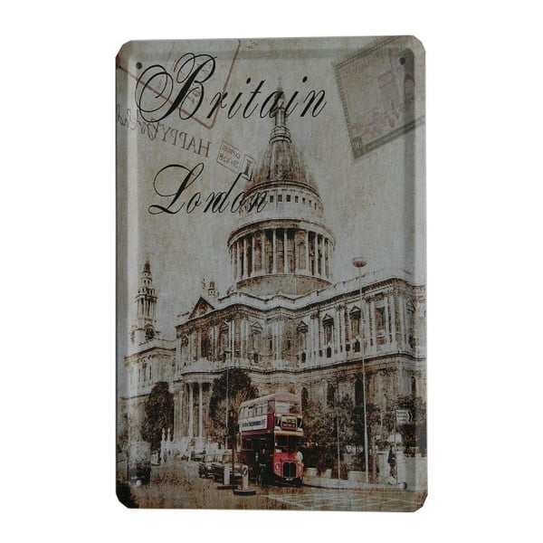 Tablica Britain London, 15x21 cm