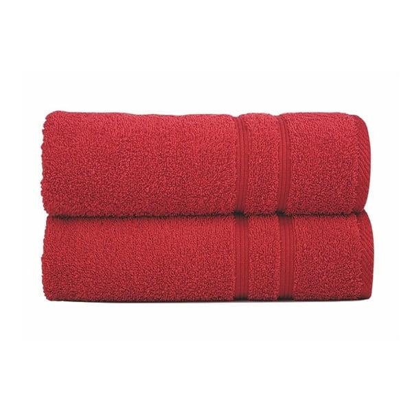 Ręcznik Sorema Basic Red, 50x100 cm
