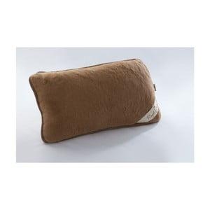 Poduszka wełniana Royal Dream Cami Brown, 40x70 cm