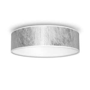 Lampa sufitowa w kolorze srebra Bulb Attack Tres, Ø 40 cm