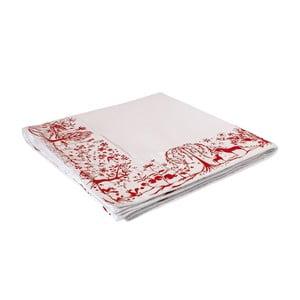 Obrus Reindeer Day 240x140 cm, czerwony
