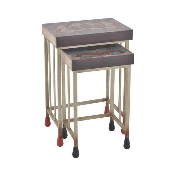 Zestaw 2 stolików InArt Matchbox