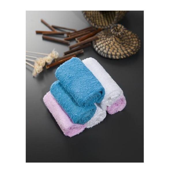 Zestaw 6 ręczników Hill Sky, 30x30 cm