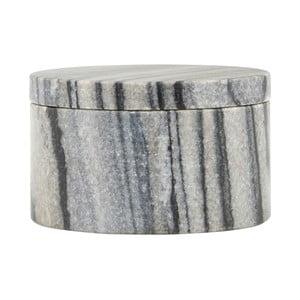 Szary   pojemnik House Doctor Grey Marble