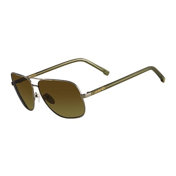 Męskie okulary przeciwsłoneczne Lacoste L146 Khaki