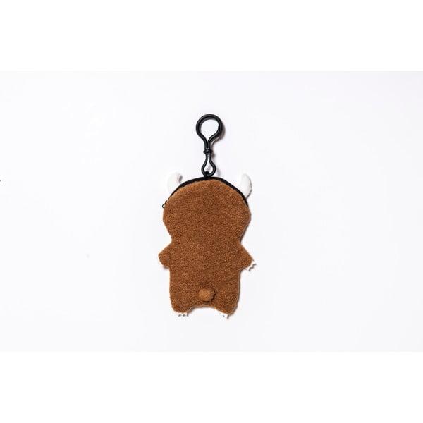 Pluszowe etui na telefon, odtwarzacz mp3, klucze Brown Ricemon