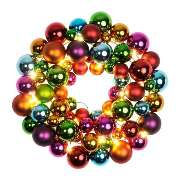 Świecąca dekoracja Ball Wreath