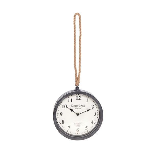 Zegar naścienny InArt Savier, czarny