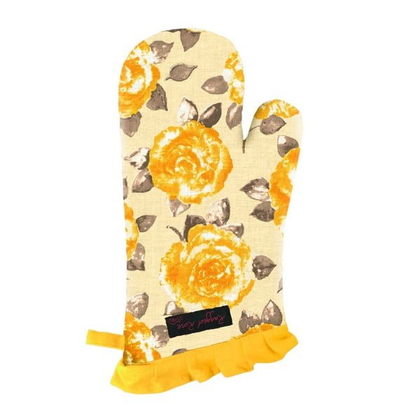 Żółta rękawica kuchenna Ragged Rose Fliss