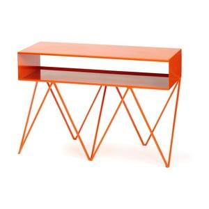 Pomarańczowy stolik &New Robot Too