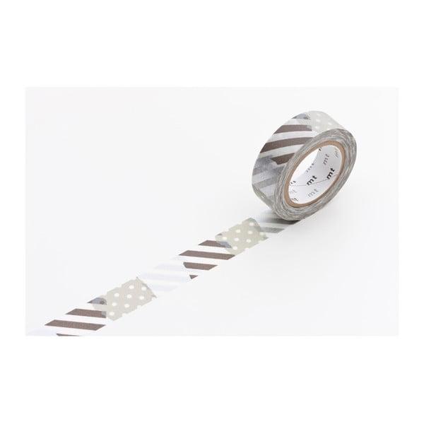 Taśma dekoracyjna washi MT Masking Tape Corine, dł.10m