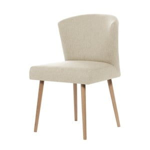 Kremowe krzesło My Pop Design Richter