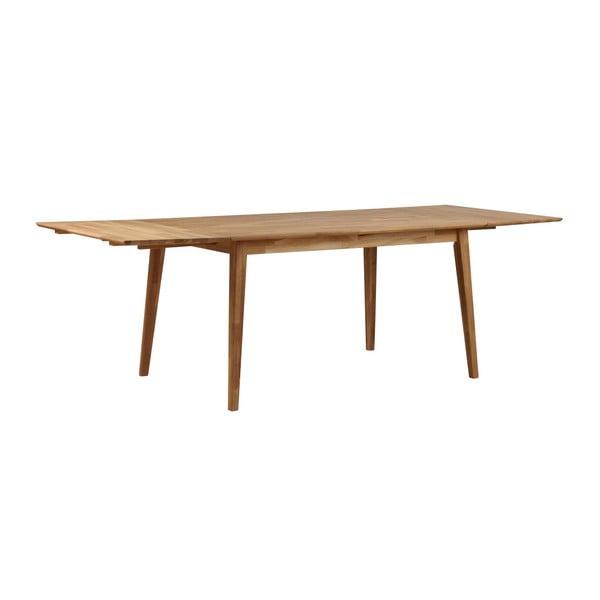 Stół z drewna dębowego Folke Mimi, dł. 140cm