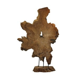 Dekoracja z drewna tekowego HSM Collection Root
