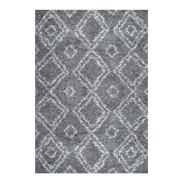 Dywan nuLOOM Zuzlo Grey, 160x228 cm
