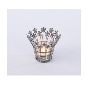Metalowy świecznik Votive, 9x9 cm