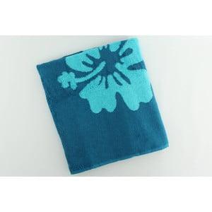 Ręcznik bawełniany BHPC Orchidea 80x150 cm, turkusowy