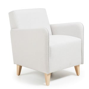 Biały fotel La Forma Kopa