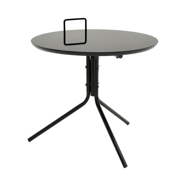 Czarny stolik InArt Classico Grip