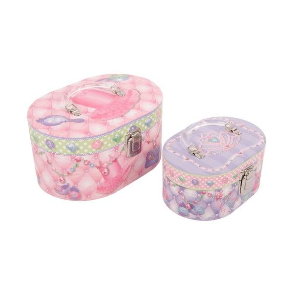 Zestaw 2 pudełek Princess