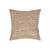 Beżowa poduszka we wzory Tiseco Home Studio Ziggy, 45x45 cm