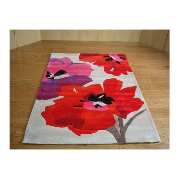 Dywan Bloom Red, 120x170 cm