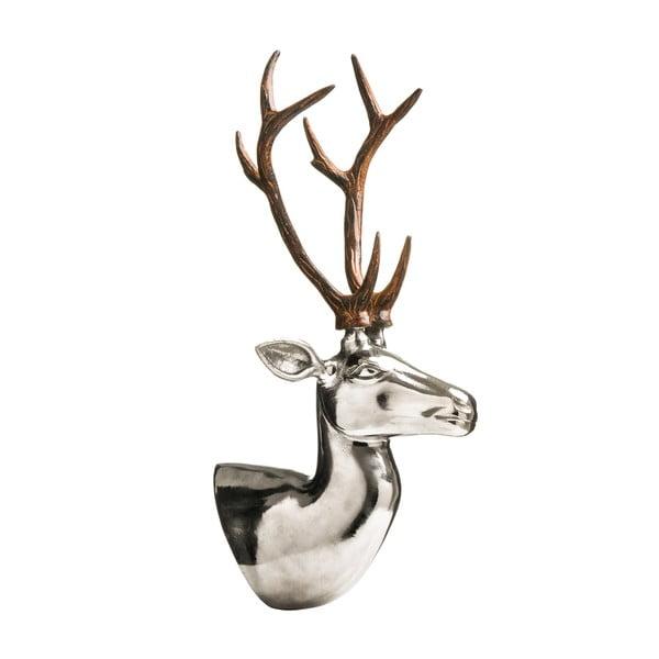 Statuetka Deer Head Nickel