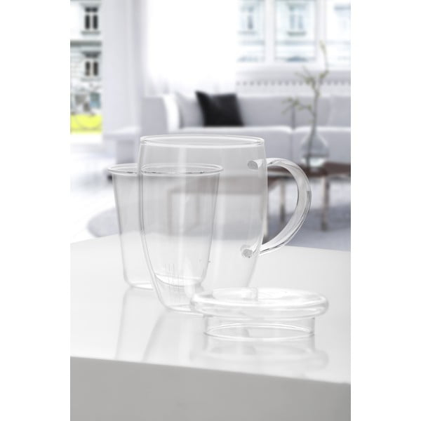 Szklany czajnik na herbatę Bambum Denisse, 500 ml