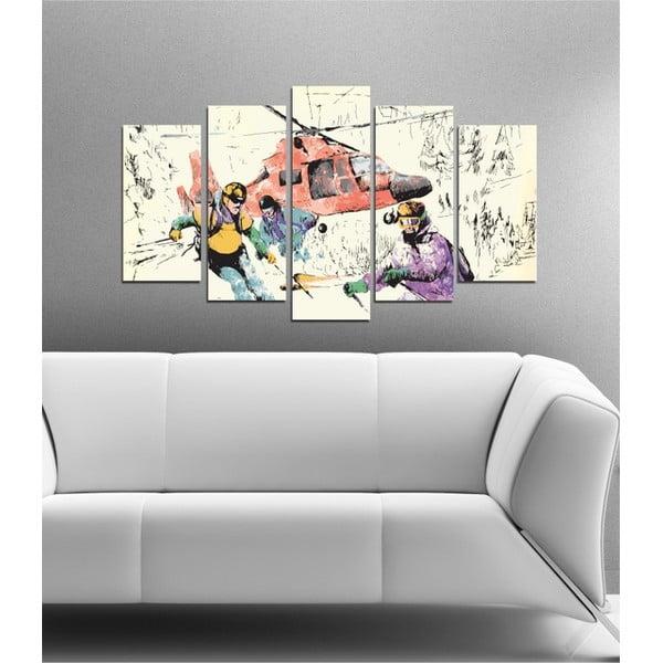 5-częściowy obraz Adrenalina