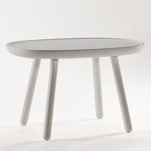 Szary stolik z litego drewna EMKO Naïve Medium