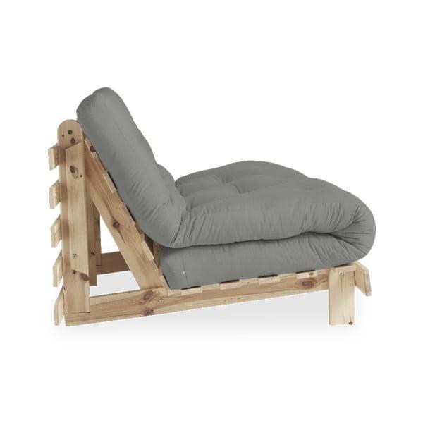 Sofa rozkładana Karup Design Roots Raw/Gris