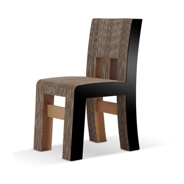 Kartonowe krzesło Campagnola Black