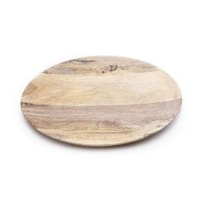 Taca drewniana ręcznie wykonana NORR11 Oda, 68 cm