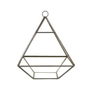 Pojemnik na drobiazgi/osłonka na sukulent Sass & Belle Black Pyramid