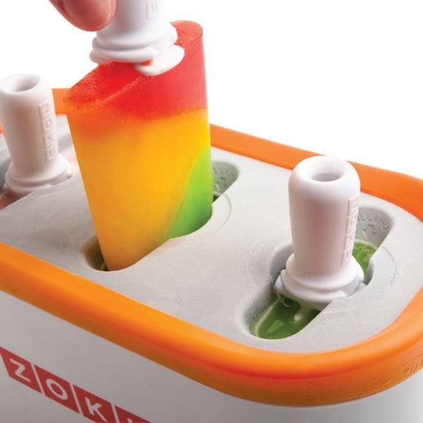 Pomarańczowa maszynka do lodów Zoku Quick Pop