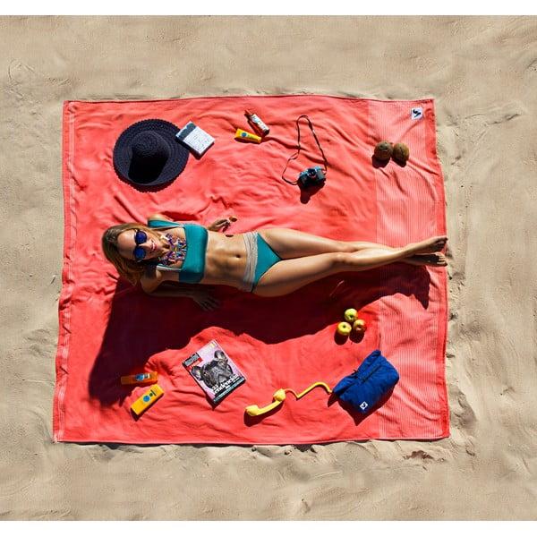 Koc plażowy Flat Seat XL Tomato, 200x200 cm
