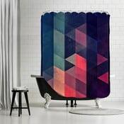 Zasłona prysznicowa Geometric, 180x180 cm